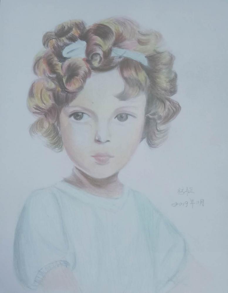 Shirley Temple por yuanzheng